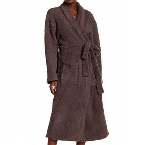 |Barefoot Dreams| Cozychic Adult Long Robe Brown